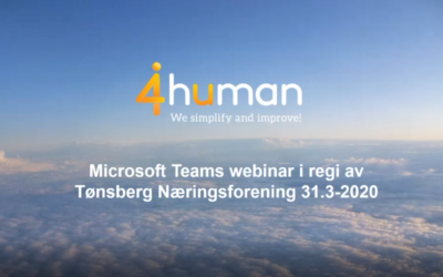 Webinar: Bruk av Teams